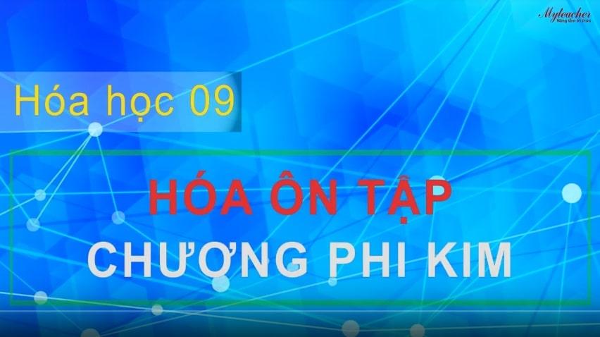 Dạy kèm trực tuyến Ôn tập chương phi kim môn Hóa lớp 9 (tt) - 1 kèm 1