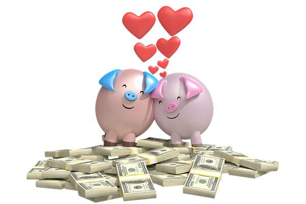 Chuyện tiền bạc trong tình yêu