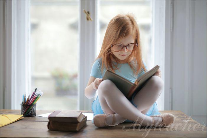 Dạy con tập đọc