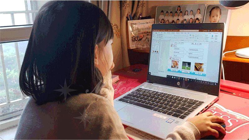 Học sinh học gia sư lớp 5 trực tuyến